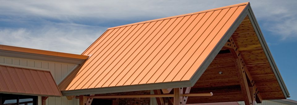 We do steel roofs and siding